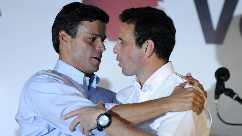 leopoldo López- Henrique Capriles
