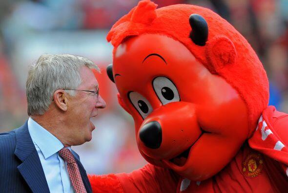 Los 'Red Devils' tenían al Diablo de su lado y lo vimos platicand...