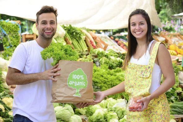 'Certified Organic'. La vemos en frutas y vegetales, galletas y 'chips'.