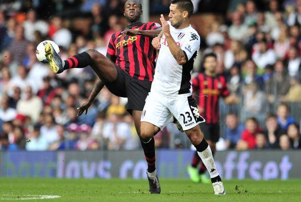 Pero no todo estaba dicho y el Fulham reaccionó, primero con gol de Bobb...