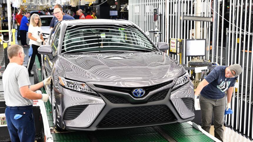 12 fábricas dentro de EEUU donde las automotrices japonesas construyen m...