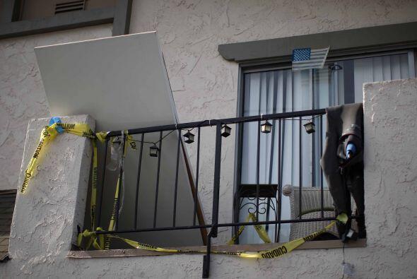 Las tres primeras víctimas se encontraron en el apartamento, sus...