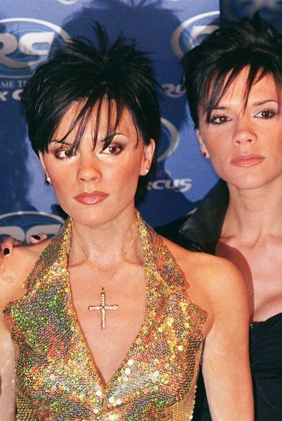 A Victoria Beckham parece no haberle gustado mucho su figura de cera.
