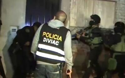 Desmantelan banda de crimen organizado en Perú