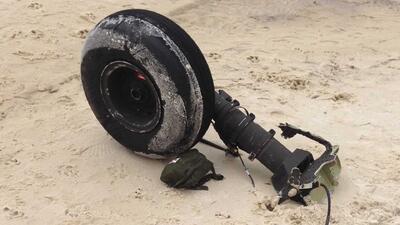 Hallan restos humanos y de helicóptero tras accidente militar en Florida