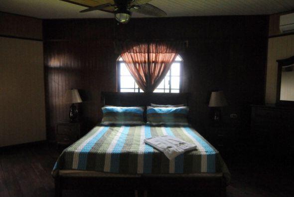 Esta es una de las habitaciones con las que cuenta el zoológico de Joya...