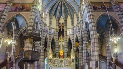Iglesia de los Capuchinos en Córdoba, Argentina.
