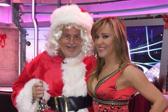 Santa estaba encantado.