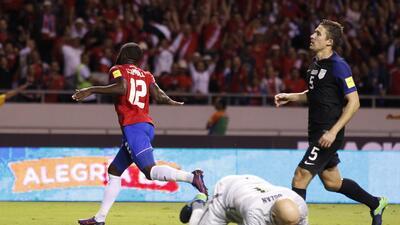 Costa Rica, líder tras golear a Estados Unidos y mandarlo al fondo del hexagonal