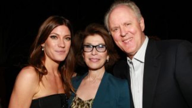 De izquierda a derecha la actriz Jennifer Carpenter, la productora ejec...