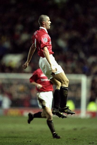 Otra opción fogosa del seno de Old Trafford. Keane tiene el temperamento...