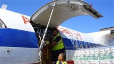 Diversas aerolineas se solidarizaron con Haití y dispusieron de aviones...