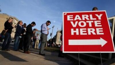 Al menos 16.4 millones de personas emitieron su voto anticipado en todo...