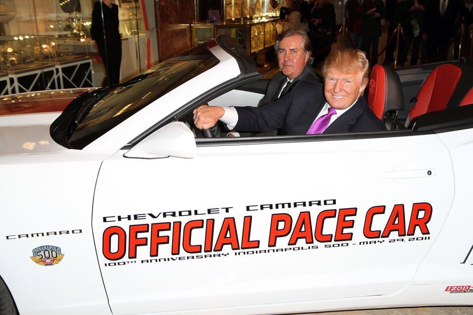Conoce los autos del millonario garaje de Donald Trump
