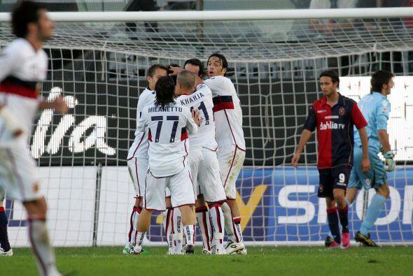 El Genoa se impuso con la anotación de Ranocchia y dejó a su rival en la...