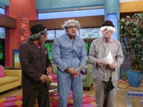 Paul Stanley llegó con su buen humor a Despierta América p...