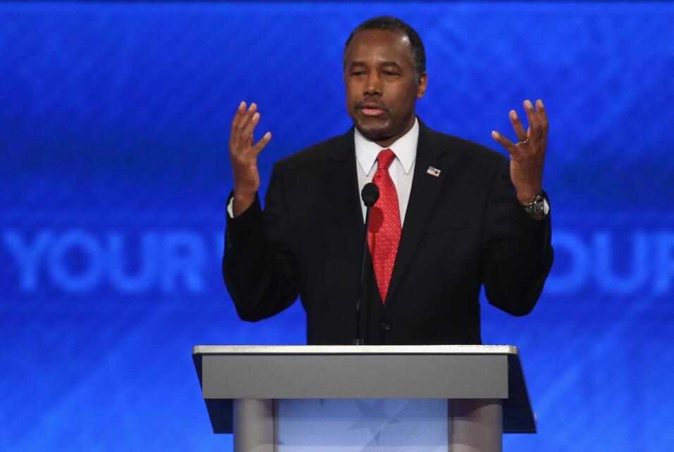Durante el debate republicano en las primarias que fue organizado por AB...