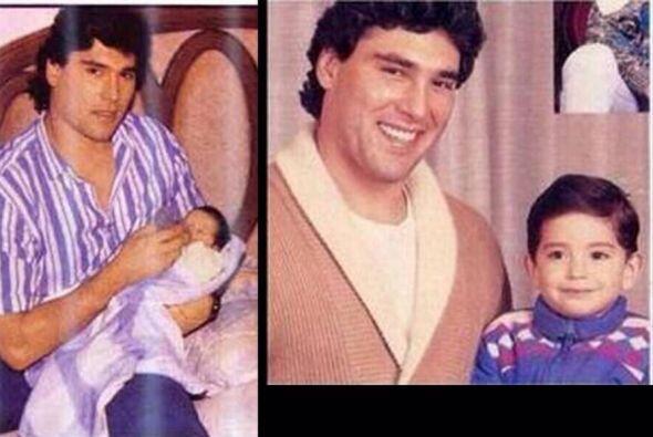Eduardo Yáñez Jr. fue un niño súper afortunado que creció rodeado del am...