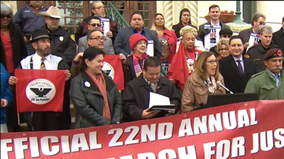 22nd annual César E. Chávez March set for March 24th