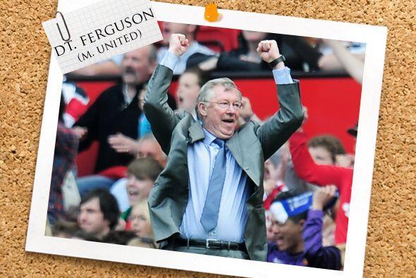 Todos estos cracks son dirigidos por Sir Alex Ferguson, quien está muy c...