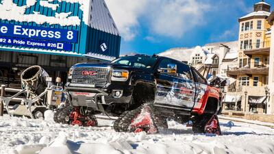 GMC Sierra 2500HD All Mountain, ¡la envidia de Santa Claus!