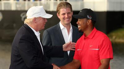 Los amigos de Donald Trump en el golf internacional