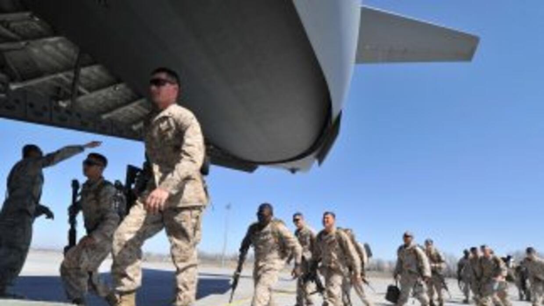 Tropas de Estados Unidos salen de territorio iraquí a finales de 2012.