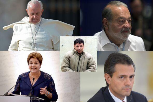 En la lista de las 72 personas más poderosas del mundo hay cinco latinoa...