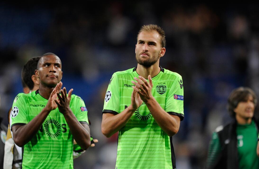 9. Bas Dost (Sporting C.P.) - El holandés ha participado en 27 anotacion...
