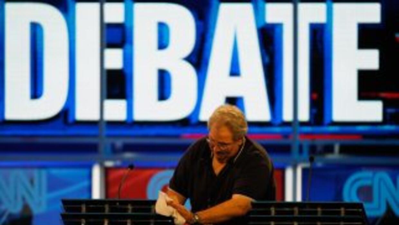 Preparación para un debate presidencial en 2012
