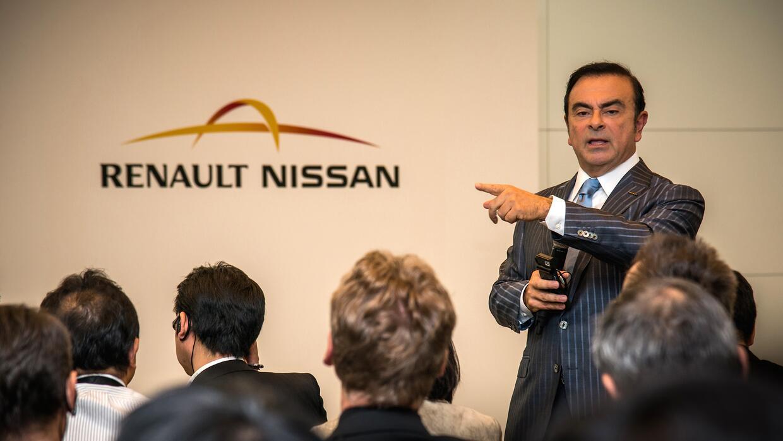 Carlos Ghosn, presidente de la alianza Renault-Nissan