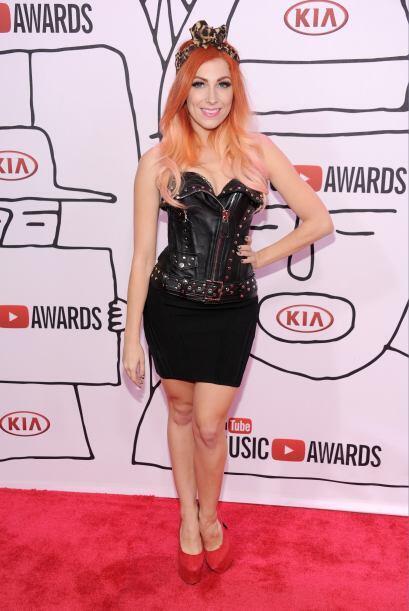 La cantante estadounidense Bonnie McKee, miembro del sello Reprise Recor...