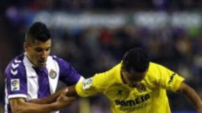Giovani no pudo evtar la derrota del Villarreal.