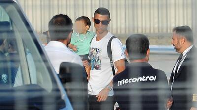 En fotos: Cristiano Ronaldo y los cracks de la Juventus se reportaron a la pretemporada
