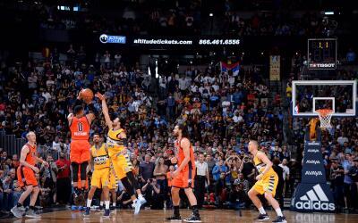 Westbrook elimina los Nuggets con este tiro increíble.