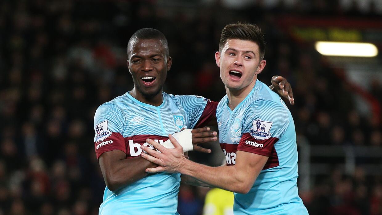 Enner Valencia concretó el triunfo del West Ham
