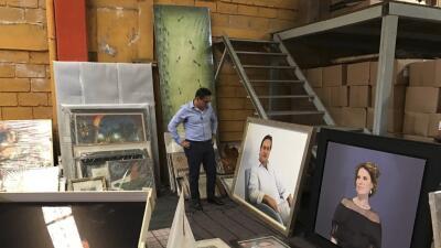 La Fiscalía de Veracruz halló en febrero una bodega con objetos del exgo...