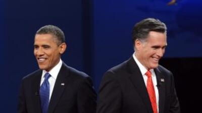 Los candidatos a la presidencia de los Estados Unidos con mayor arraigo...
