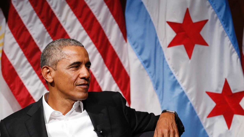 Barack Obama en Chicago