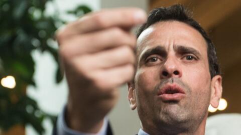 "Henrique Capriles afirmó que Venezuela vive una ""hora decisiva""."