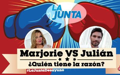 Julián Gil o Marjorie de Sousa: ¿Quién tiene razón?