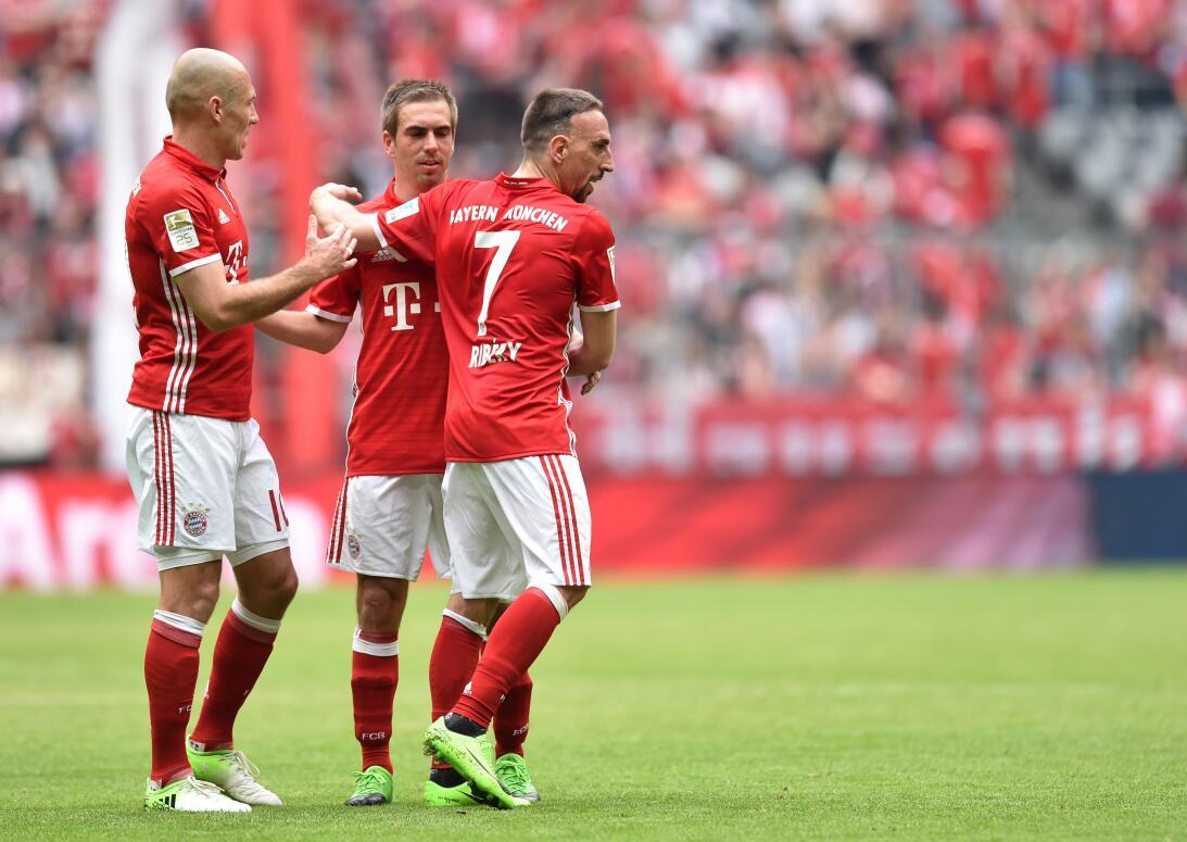6. Bayern Múnich (Alemania - UEFA) / 254 puntos