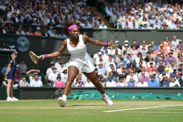 La menor de las hermanas Williams, cuatro veces ganadora en el All Engla...