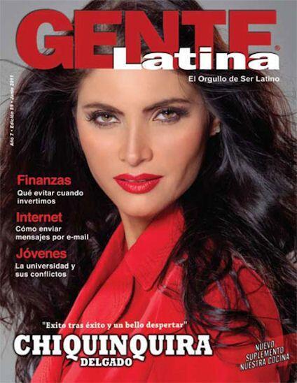La revista 'Gente Latina' tampoco pudo contra los encantos de Chiquinqui...