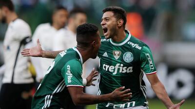 Palmeiras se mantuvo como el líder del Brasileirao