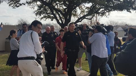 Ethan Couch es trasladado a una cárcel de adultos
