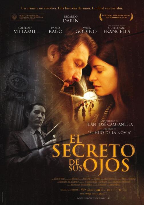El secreto de sus ojos(2014), ArgentinaDirector: Juan José Campan...