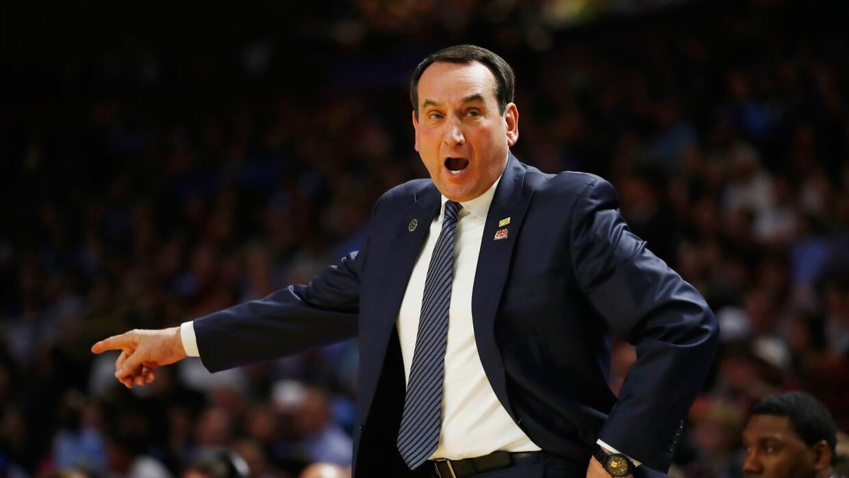 No veremos más al Coach K sino hasta la próxima temporada.