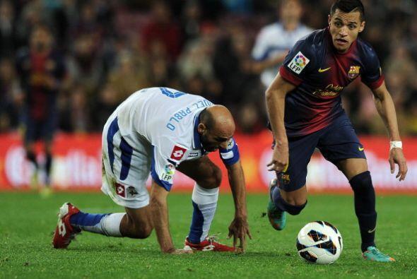 Barcelona dominó al Deportivo, que demostró el porqué está en el último...
