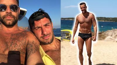 Como pocas veces: Ricky Martin y su esposo compartieron su escapada a un exclusivo centro turístico